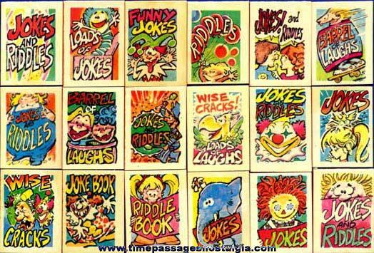 Cracker Jack Series #1405 Toy Prizes (Joke & Riddle Books)