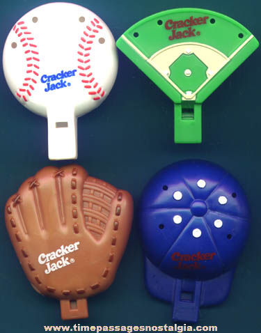 ©2000 Cracker Jack Baseball Theme Whistle Prizes