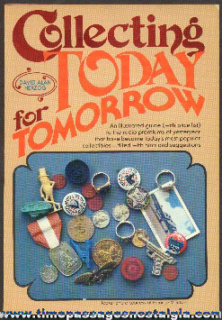 "�1980 ""COLLECTING TODAY FOR TOMORROW"" Book"