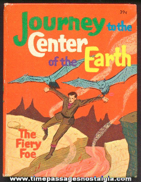 ©1968 Journey To The Center of The Earth Whitman Big Little Book