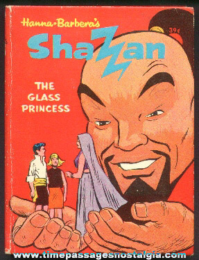 ©1968 Shazan The Glass Princess Whitman Big Little Book