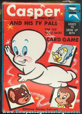 OLD UNOPENED CASPER CARTOON PLAYING CARD GAME