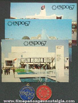 (5) Montreal Expo '67 Souvenir Items
