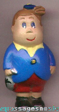 Old Painted TUBBY (Little Lulu friend) Cartoon Character Ceramic Figure