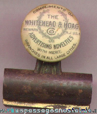 Old Whitehead & Hoag Advertising Clip