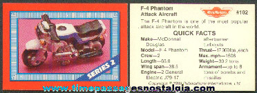 �1989 Set Of Micro Machines Trading Cards