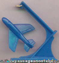 Old Jet Airplane & Launcher Cereal Premium / Prize