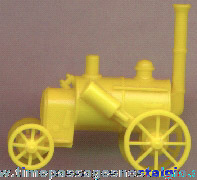 Old Cereal Prize Miniature Tractor Plastic Model