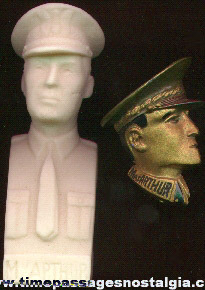 (2) Old General Douglas MacArthur Items