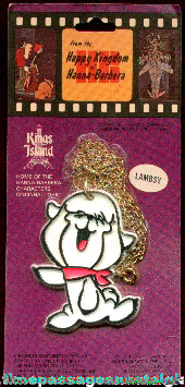 "Unopened Hanna-Barbera ""Lambsy"" Toy Necklace"