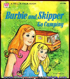 ©1973 Barbie Whitman Tell-A-Tale Book.