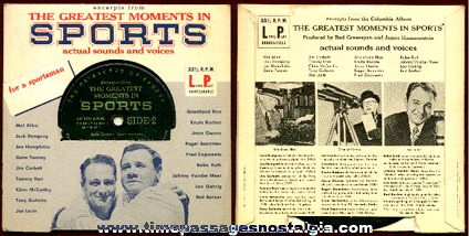 Sports Premium Record From Gillette Razors