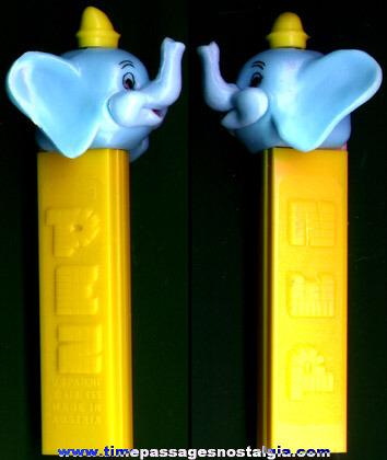 Walt Disney Dumbo Character PEZ Candy Dispenser