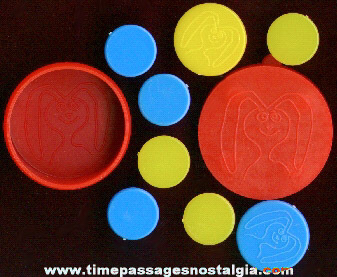 1960's Trix Cereal Premium / Prize Tiddley Winks Game