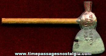Old Small George Washington Souvenir Hatchet