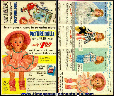 Old Doll Premium Advertisement