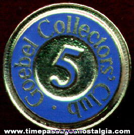 Goebel Collectors' Club Pin