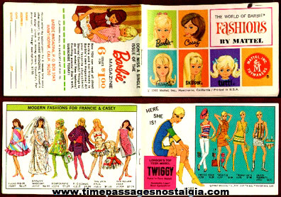 1966 Barbie Booklet by Mattel