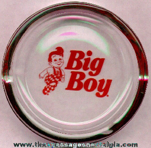Big Boy Restaurant Advertising Ashtray
