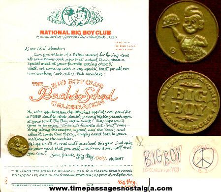 (3) Scarce Big Boy Club Items