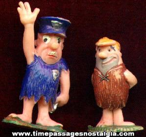 (2) Old Flintstones Character Tinykin Figures