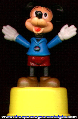 Mickey Mouse Push Puppet