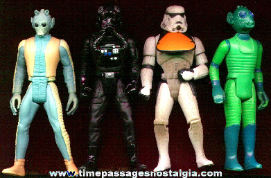 (4) Star Wars Character Figures
