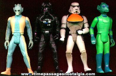 (4) Star Wars Character Figures