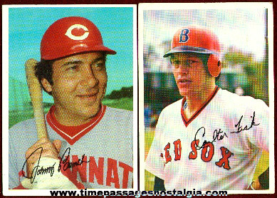 (5) Large Topps 1981 Baseball Cards