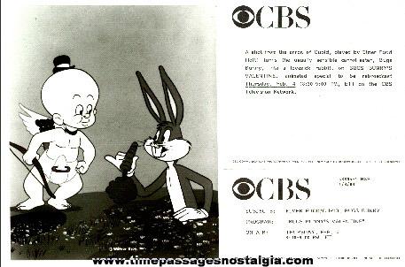 ©1988 Bugs Bunny & Elmer Fudd CBS Promotional Photograph