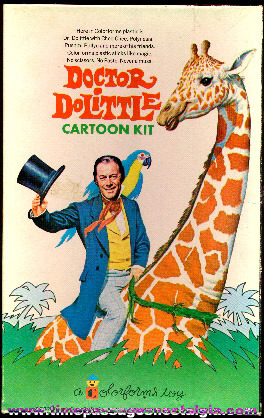 1967 Doctor Dolittle Colorforms Set
