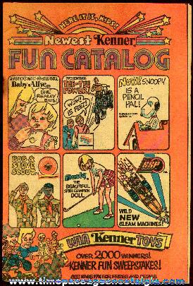 ©1972 Kenner Fun Toy Catalog