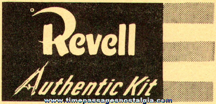 (6) 1950's Revell Aircraft Model Kit Instruction Sheets
