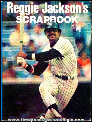 "©1978 ""Reggie Jackson's Scrapbook"" Book"