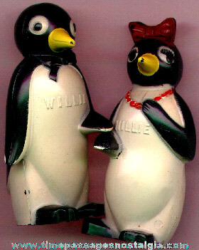 Kool Cigarettes Advertising Character Salt & Pepper Set