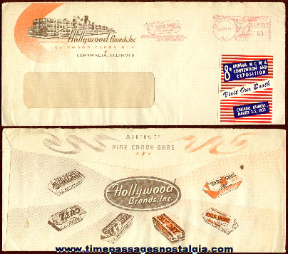 Nice Old Graphic Candy Company Envelope