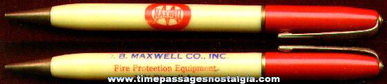 O.B. Maxwell Company Advertising Mechanical Pencil