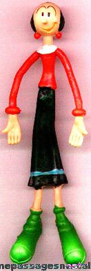 Olive Oyl Bendable Character Figure