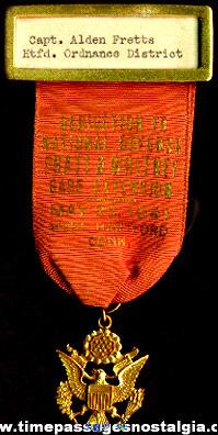 1941 Pratt & Whitney World War II National Defense Medal