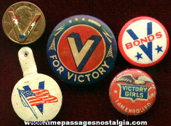 (5) World War Victory Items