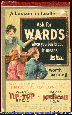 Old Wards Bread Advertising Premium Paper Tablet