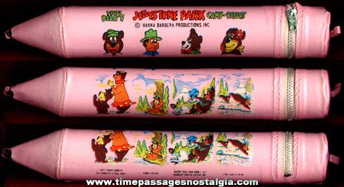 Yogi Bear's Jellystone Park Camp Resort Vinyl Pencil Case