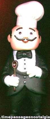 Magic Chef Advertising Character Rubber Figural Bank