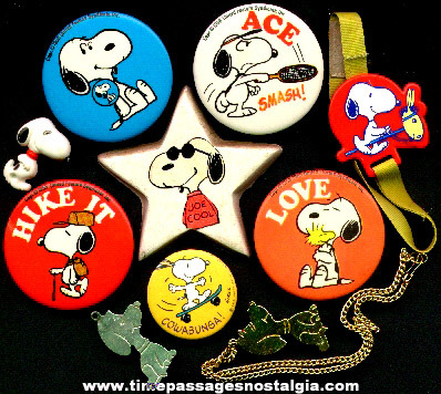 (10) Snoopy Items