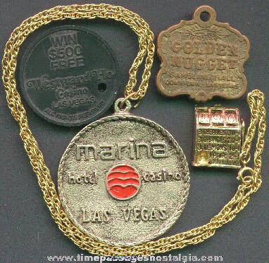 (4) Las Vegas Casino Gambling Souvenir Items