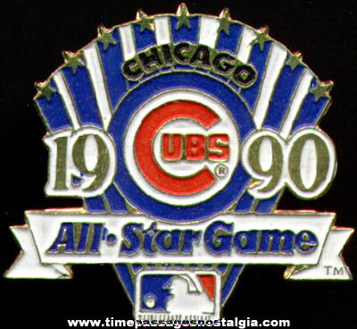 1990 Chicago Cubs All Star Game Baseball Pin
