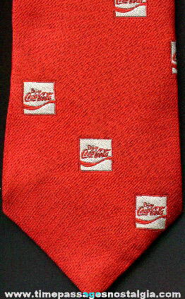 Coca - Cola Advertising Employee Neck Tie