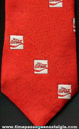 Coca - Cola Advertising Employee Neck Tie