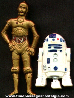 (2) Wilton Star Wars Character Cake Decoration Figures
