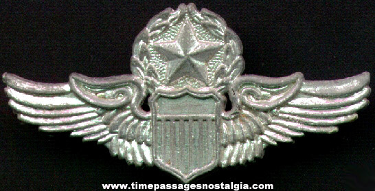 Old Toy Aviation or Space Wings Pin